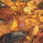 Paella de mariscos en Fogón de Galicia