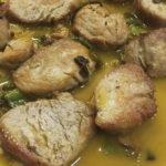 Solomillo con ajos y pimientos - Fogón de Galicia