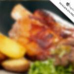Codillo de cerdo al horno en Fogón de Galicia